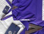 Κορυφαίο μέγεθος Versace Italy Purple Lilac