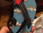 Flip flops 23 size