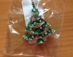 Brooch Christmas Fir-tree
