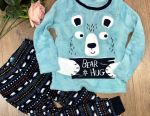 Pajamas fleece 92/98