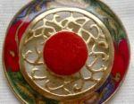Vintage jewelry enamel 1915 - 1940