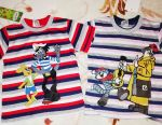 T-shirts for children new package р.68-74, bright, хл