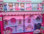 Кукольный домик складной LOL Лол новый