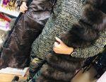 New fur coat transformer from arctic fox
