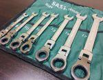 New ratchet wrench 8-19mm SataVip