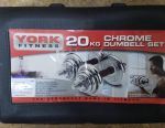Dumbbells with an adapter of 20 kg. Delivery as a gift.