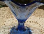 Color glass bowls