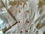 Summer white jacket jacket