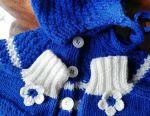 Tricotat kit pentru un nou-născut