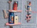 Πλαστικό / αλουμίνιο ράφι μπάνιου