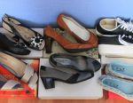 Много новой обуви