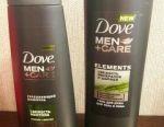 Set Dove Men + care energy freshness, 250 + 250ml