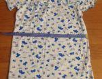 Новая ночная сорочка для девочки 3-4 года.
