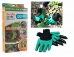 Садові рукавички-граблі