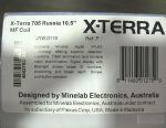 Ανιχνευτής μετάλλων Minelab X-Terra 705 RUS + σακίδιο C