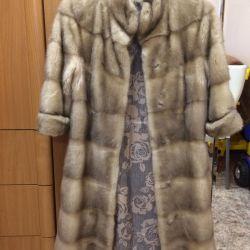 Mink coat!