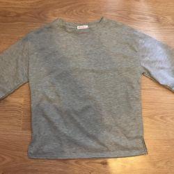 Γκρι πουκάμισο Νέο μπλουζάκι