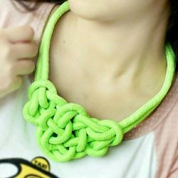 Bright original necklace