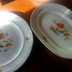 Dishes oval