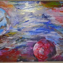 Pictura acrilică