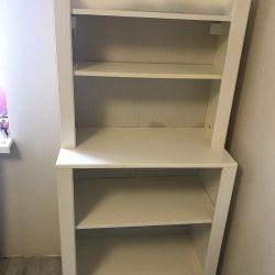 Дитячий стелаж для книг і іграшок IKEA.
