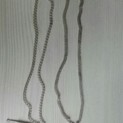 Silver chains Italy new
