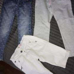 Trousers for 4-5 years branded