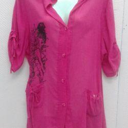 New tunics from gauze.