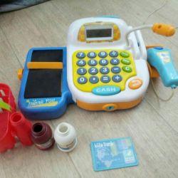 Cash register for children