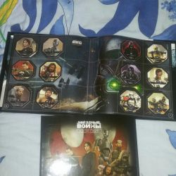 STAR WARRIORS album filled