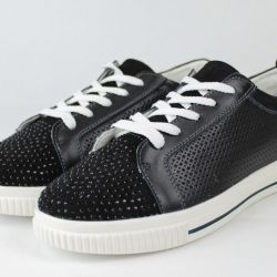 Sneakers 36r-41r Genuine Leather