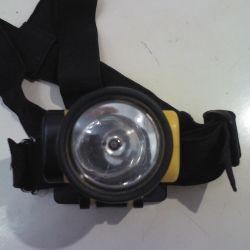 Lanternă cap rezistent la apă.