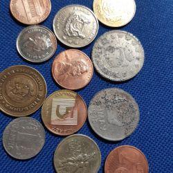 Нумизматика 12 старых монет.