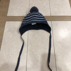 Hats on a boy