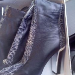 Boots spring leather 39