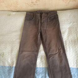 Erkekler için pantolon.