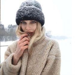 New fur coat 😍🌈🐑👇
