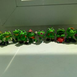 Kinder toys of the 90s