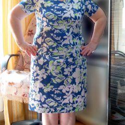 New natural dress 48-50 Cotton Viscose