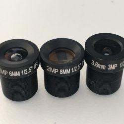 Линза объектив для камер наблюдения 6мм 8мм 3,6мм