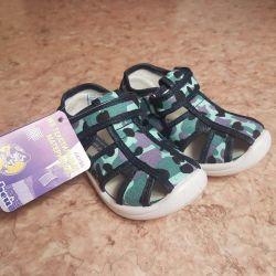 Tekstil sandaletler
