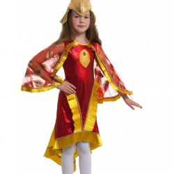 Children's carnival costume firebird