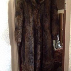 Nutria fur coat