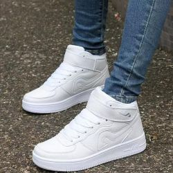 White Winter Sneakers