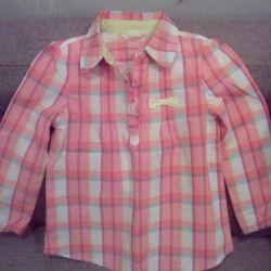 Παιδικό πουκάμισο για κορίτσι