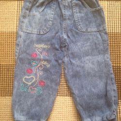 Denim pants for girls. Pr-Turkey