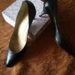 Shoes leather 40-40.5 size