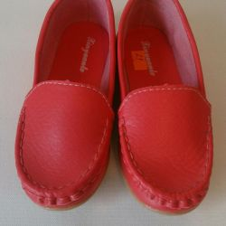 I will sell new moccasins of 29 size