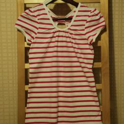 New striped shirt for a girl