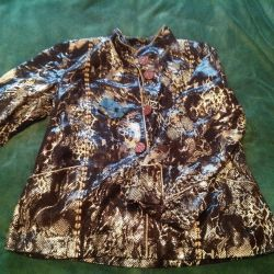 Женская куртка кожаная новая( Турция)